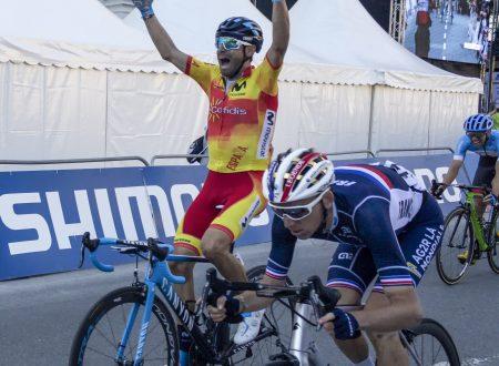Quando sei lì e Alejandro Valverde domina l'inferno! Suo il mondiale 2018