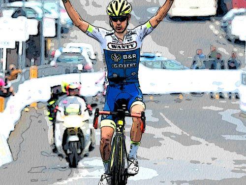 Guillaume Martin trionfa sull'Etna e McNulty conquista Il Giro di Sicilia